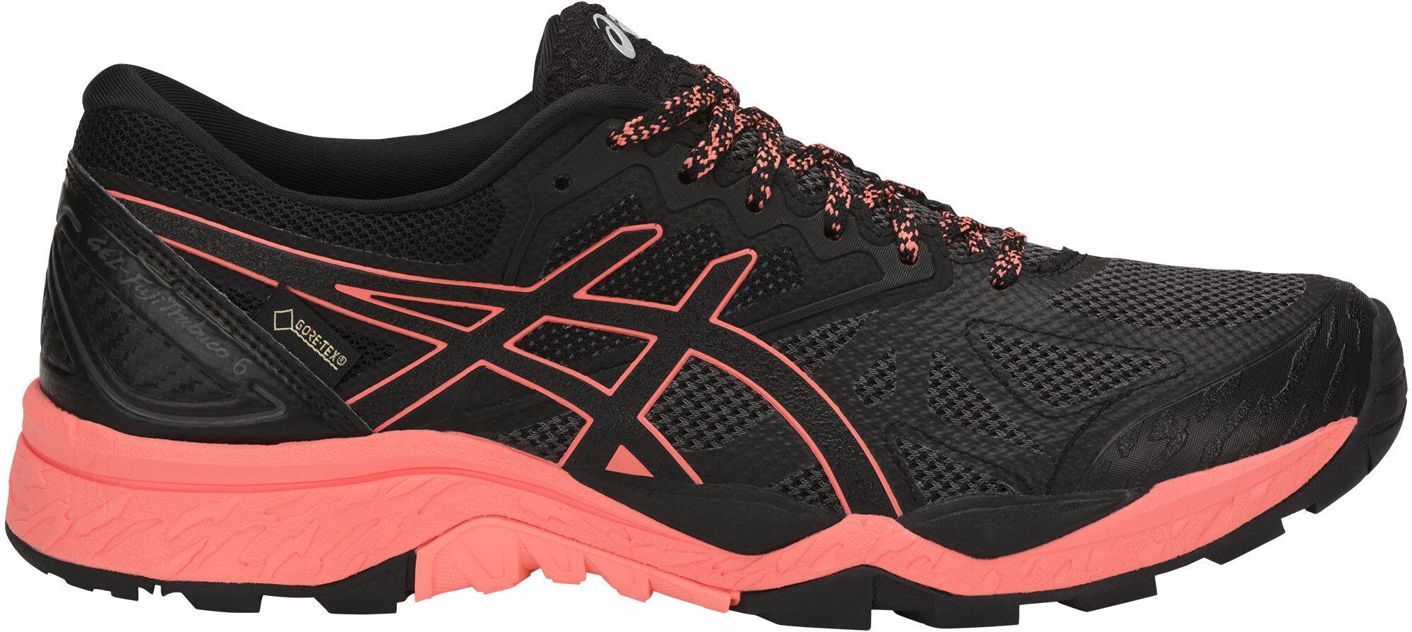 asics Gel-Fujitrabuco 6 G-TX - Zapatillas running Mujer - rojo ... da8a86626c5b8